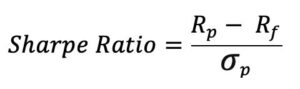 Sharpe Ratio formel